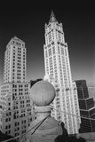 Woolworth Building - Aerial View From Park Row