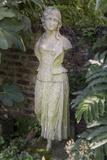 Garden Statue Female 2 (English Garden Scene with Fig Leaves)