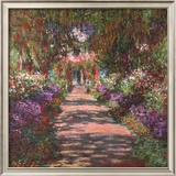 Pathway in Monet's Gardens at Giverny  c1902