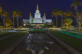 Morman Temple  Oakland  CA 6 (Iconic Buildings Christman Season)