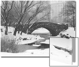 Gapstow Bridge  Central Park  Ny in Snow