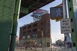 Under the Gowanus Expressway  Brooklyn  Ny (Urban Street with Memorial and Signs)