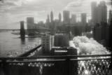 Infrared New York from the Manhattan Bridge