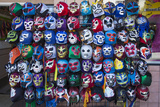 Mexican Wrestling Masks 1 (Store Display in the Mission  San Francisco  CA)