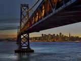 Oakland Bay Bridge with San Francisco Skyline