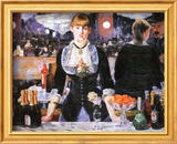 Bar at the Folies-Bergere  c1882