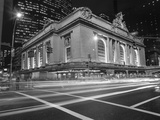 Grand Central Station  NY at Night - NY City Landmarks at Night