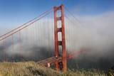 Golden Gate Bridge Tower in Fog 10