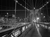 On the Brooklyn Bridge Night