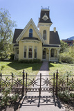 Victorian House and Fence 1 (Boulder  Co)