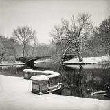 Lullwater Bridge Snow  Prospect Park - Prospect Park  Brooklyn New York
