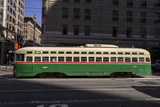 Streetcar on Market Stree  San Francisco  CA (F Line)