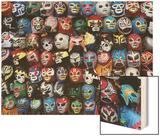 Mexican Wrestling Masks 2 (Store Display in the Mission  San Francisco  CA)