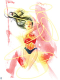 DC Wonder Woman Comics: Watercolor Design