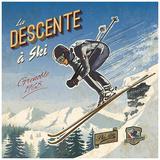 Ski descente