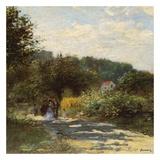 Une route à Louveciennes