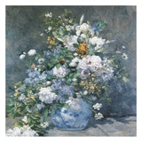 Bouquet Printanier Reproduction d'art par Auguste Renoir