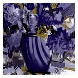 Dark blue flowers