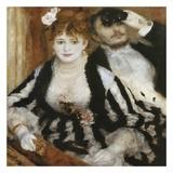 La Loge Reproduction d'art par Auguste Renoir