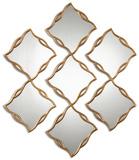 Terlizzi Gold Mirrors  S/3