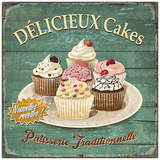 Délicieux cakes