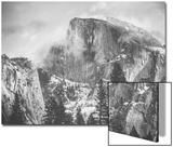 Misty Half Dome at Yosemite  California
