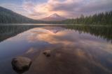 Moody Reflections at Trillium Lake  Oregon