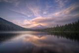 Cloudscape Reflection at Trillium Lake  Oregon