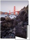View From The Rocks II  Golden Gate Bridge  San Francisco