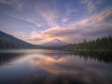 Cloudscape Reflection at Trillium Lake  Oregon