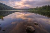 Mount Hood Reflection at Trillium Lake  Oregon