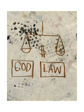Untitled (God - Law) Giclée par Jean-Michel Basquiat