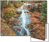 Beaver Creek Cascades in Autumn  New Hampshire
