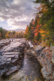 Autumn at Rocky Gorge  Kancamagus New Hampshire