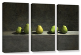 Cynthia Decker's Five Pears  3 Piece Gallery-Wrapped Canvas Set