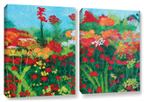 Herb Dickinson's Cheryl'S Garden  2 Piece Gallery-Wrapped Canvas Set