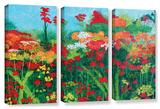 Herb Dickinson's Cheryl'S Garden  3 Piece Gallery-Wrapped Canvas Set