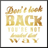 Dont Look Back Gold