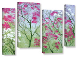 Herb Dickinson's Elysian  4 Piece Gallery-Wrapped Canvas Staggered Set