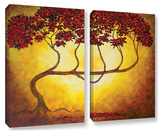 Herb Dickinson's Ethereal Tree I  2 Piece Gallery-Wrapped Canvas Set