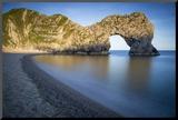 Evening at Durdle Door Along the Jurassic Coast  Dorset  England