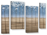 Herb Dickinson's Spring Dream  4 Piece Gallery-Wrapped Canvas Staggered Set