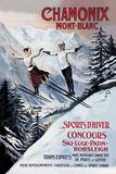Chamonix Mont-Blanc  Skiing