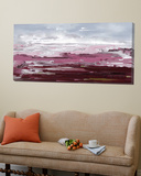 Calm purple Toile Murale Géante par Doris Savard