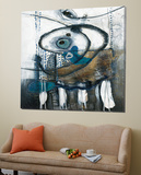 Ouvrez-l'œil Toile Murale Géante par Sylvie Cloutier