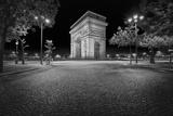 Arc De Triomphe in Black and White