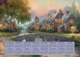 Thomas Kinkade Painter of Light - 2016 Poster Calendar (16 Month)