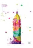 Empire watercolor