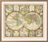 Antique World Globes