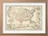 New Military Map of the United States  1861